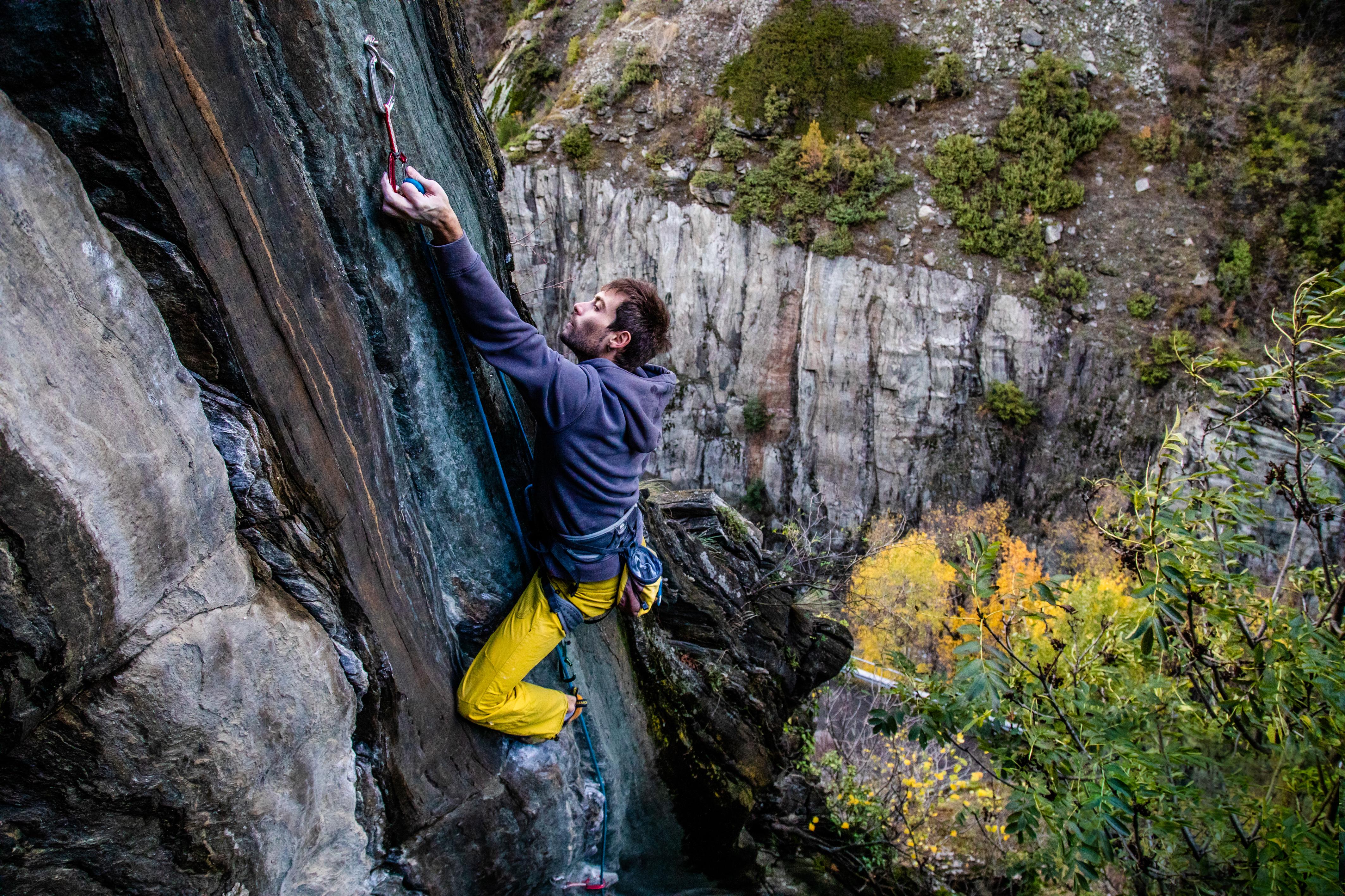 fotografia scalata valle d'aosta
